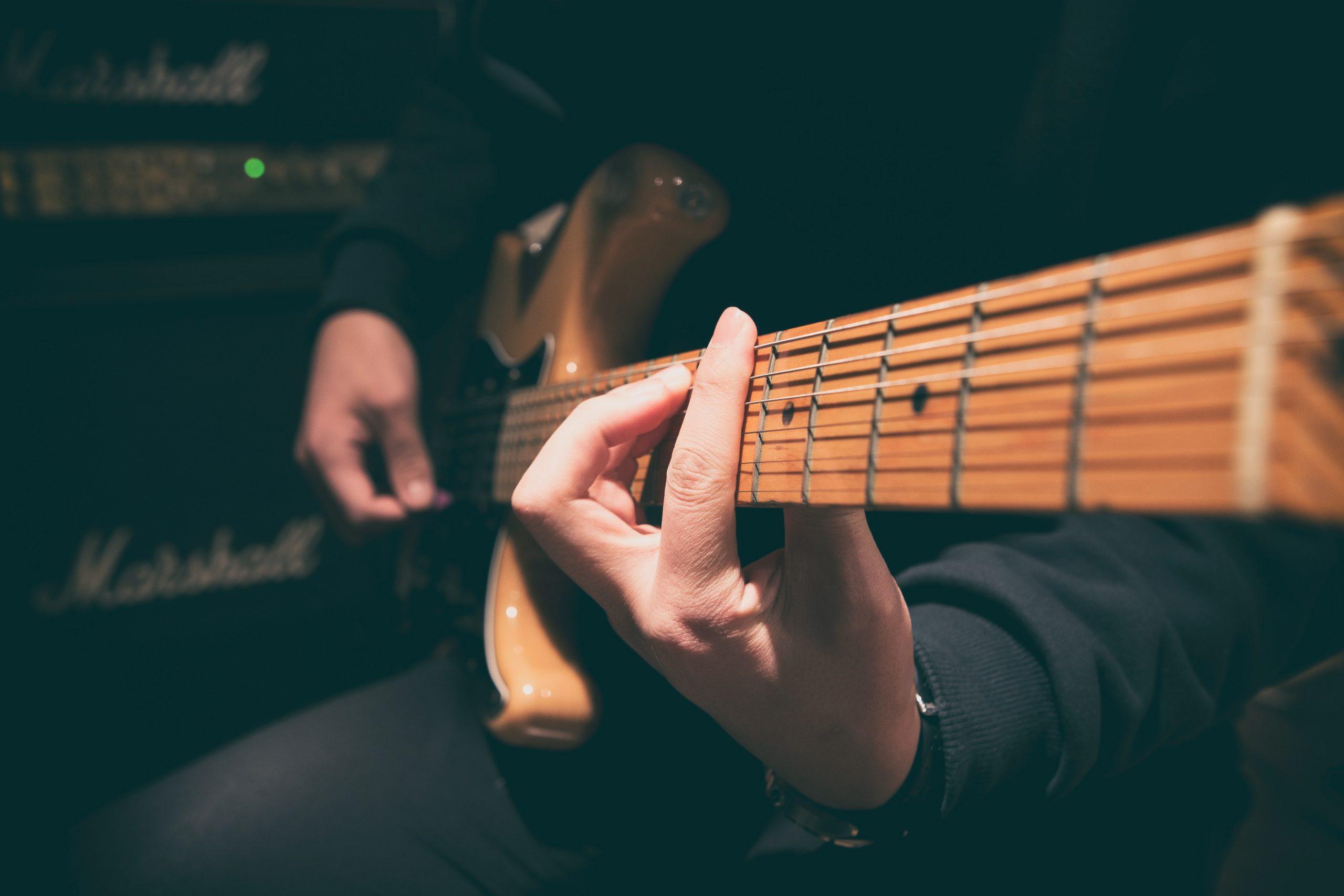 arte allegro - caged - escuela de musica online - guitarra